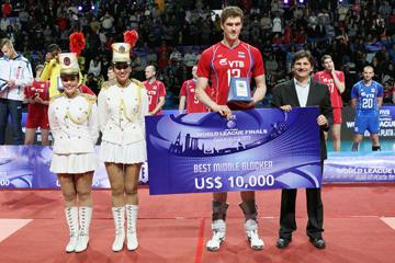 Дмитрий Мусэрский — лучший блокирующий Мировой лиги