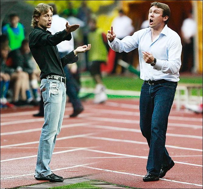 Валерий Карпин и Андрей Талалаев
