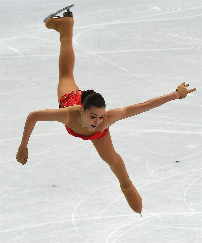 Аделина Сотникова откатала отлично