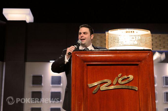 Жак Эффель открывает WSOP-2011