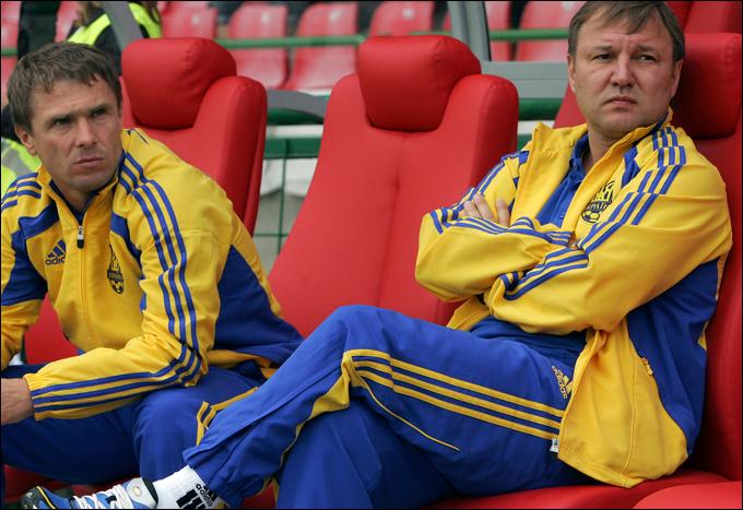 2010-й. Сергей Ребров и Юрий Калитвинцев