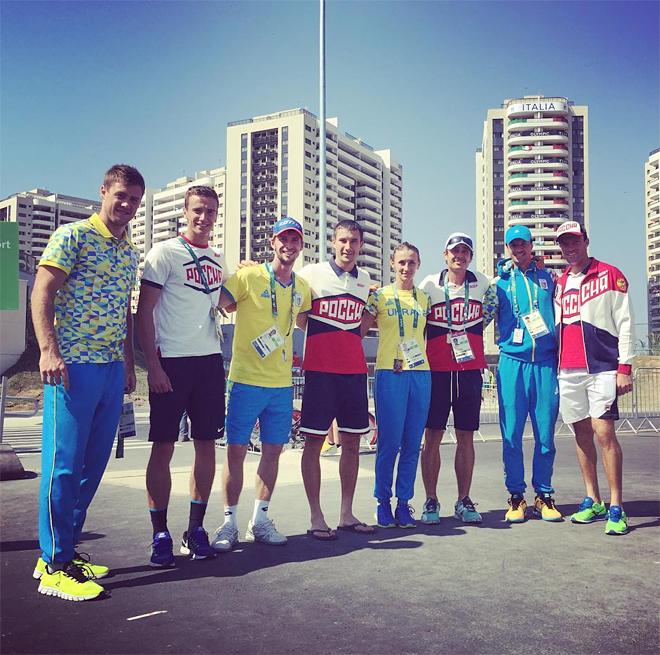 Российские и украинские теннисисты в Рио
