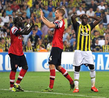 """""""Фенербахче"""" (Турция) – """"Арсенал"""" (Англия) – 0:3"""