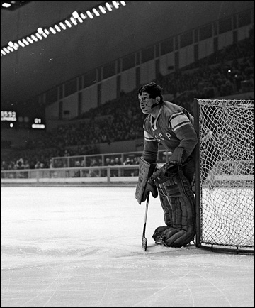 Виктор Коноваленко в воротах сборной СССР, 1968 год
