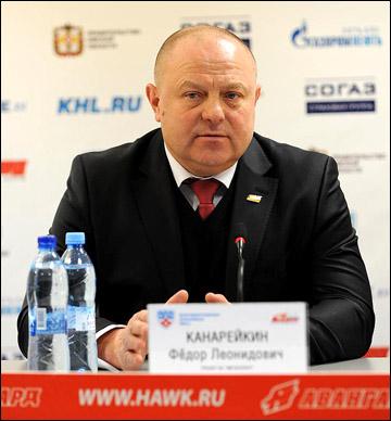 """Главный тренер """"Металлурга"""" Федор Канарейкин"""