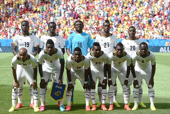 Сборная Ганы
