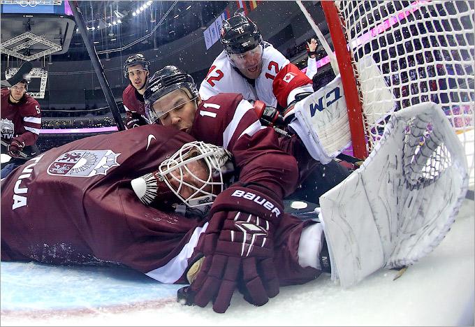 Латвия смогла неприятно удивить сборную Канады