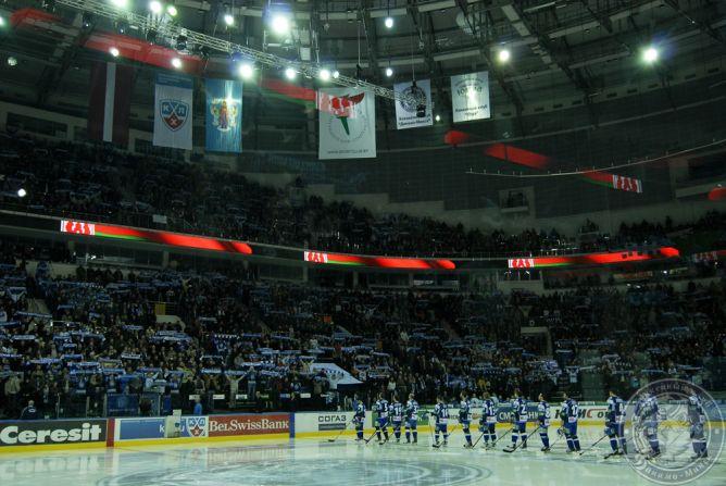 16.039 – новый зрительский рекорд КХЛ. Интересно, сколько всего белорусов смогут поместиться в 15-тысячный Ледовый дворец.