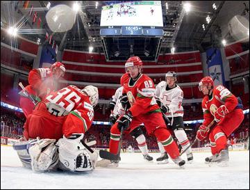 Сборная Белоруссии в третий раз подряд заняла на чемпионате мира 14-е место