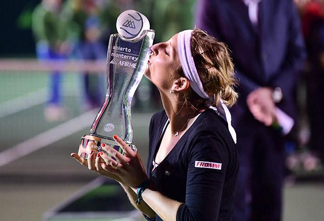 Бачински второй раз подряд победила Гарсию в финале