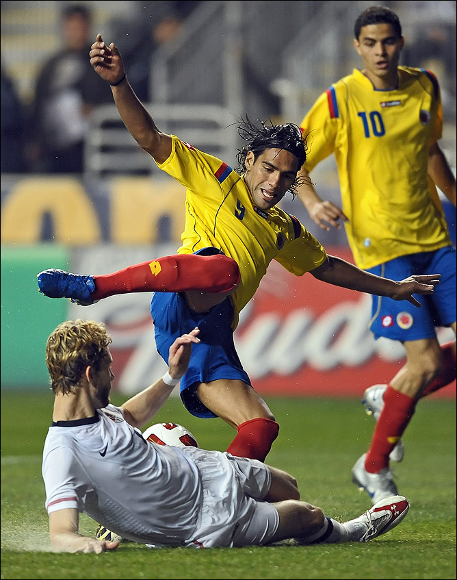 Фалькао — главная надежда сборной Колумбии на Кубке Америки-2011