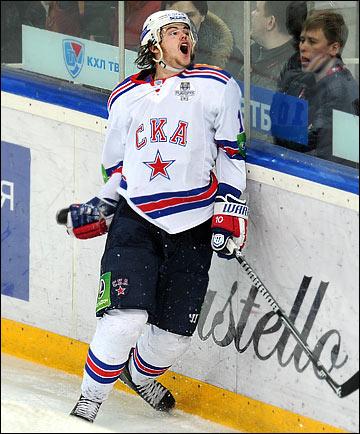 Виктор, пожалуй, один из самых эмоциональных хоккеистов КХЛ