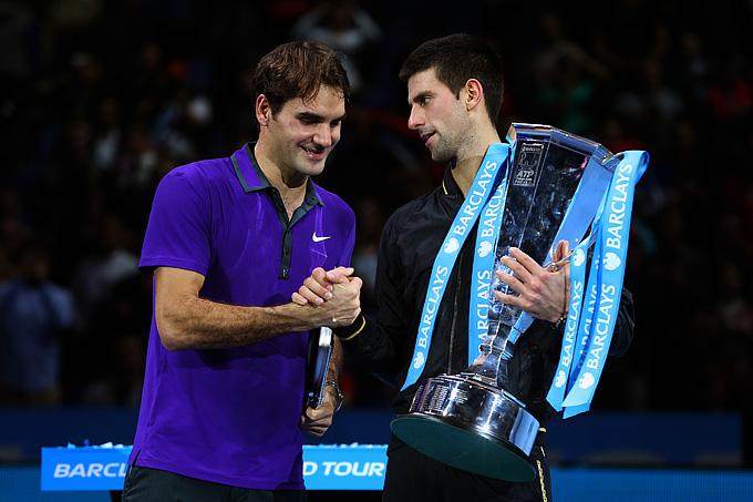 Финальный матч Итогового турнира между Джоковичем и Федерером был 29-м в истории их личных встреч