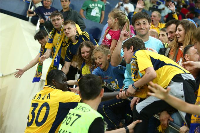 Харьковские болельщики впервые увидят матчи Лиги чемпионов на своем стадионе