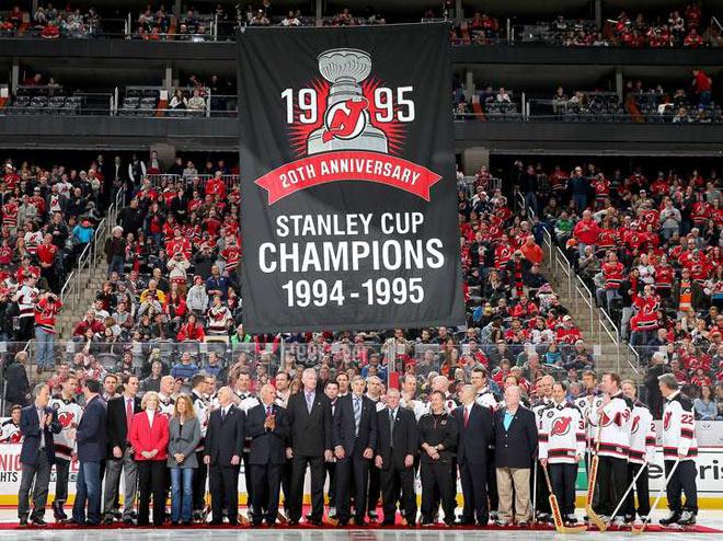20 годовщина завоевания «Нью-Джерси» Кубка Стэнли