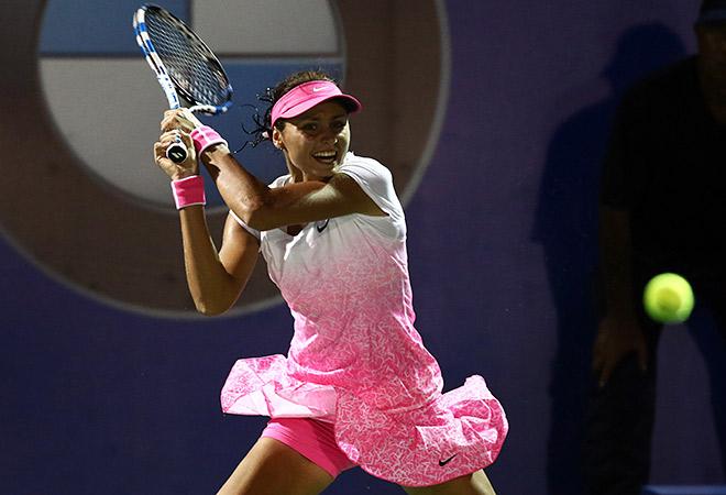 Куличкова впервые вышла в четвертьфинал