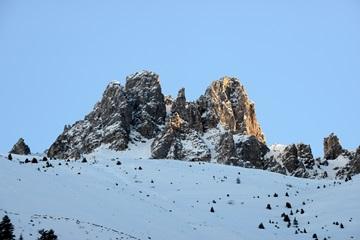 Здесь Шумахер катался на горных лыжах