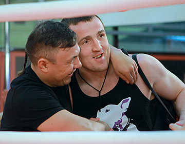 Константин Цзю и Денис Лебедев