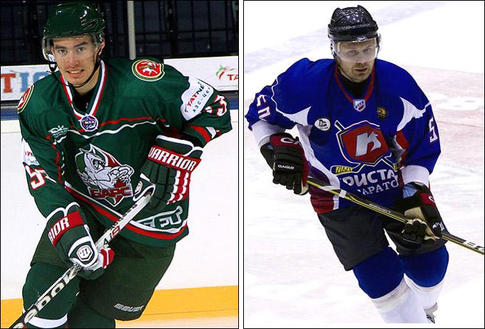 Данил Файзуллин и Евгений Сапожков