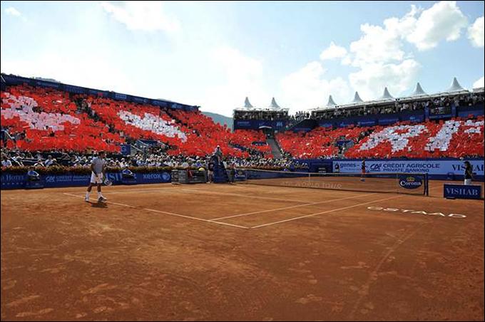 Роджер Федерер проиграл на старте Гштаада