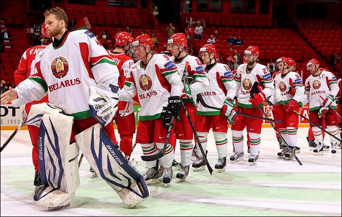 Сборная Белоруссии отмучилась…