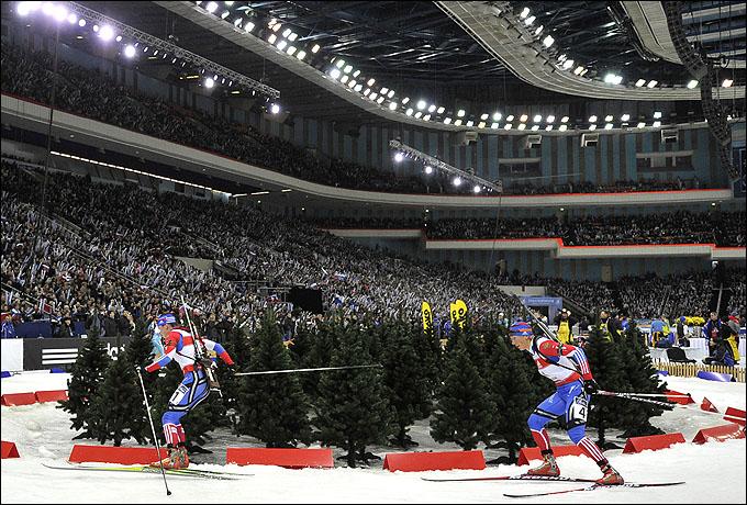 В 2011 году Светлана Слепцова выиграла масс-старт, Ольга Зайцева стала второй в эстафете