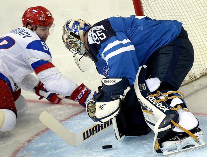 25 мая 2014 года. Минск. Чемпионат мира. Финал. Россия — Финляндия — 5:2