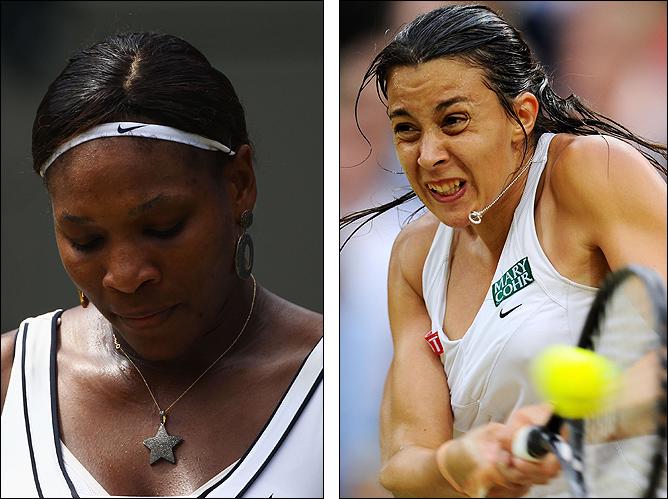 Бартоли показала отличный теннис и обыграла Серену