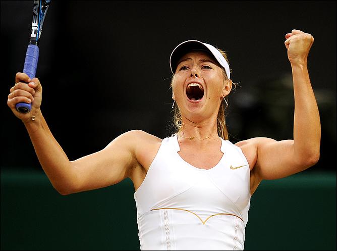 Спустя пять лет Мария вернулась в полуфинал Уимблдона