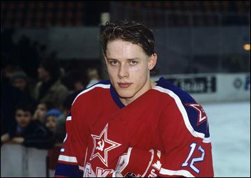 Павел Буре в ЦСКА, 1991 год