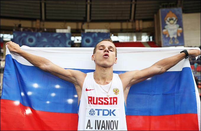 Александр Иванов победил на дистанции 20 км