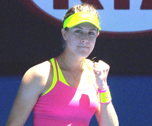 Эжени Бушар выглядит на этом турнире очень уверенно.