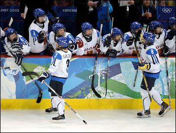 Женская хоккейная сборная Финляндии