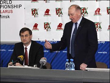 Заседание исполкома федерации хоккея Белоруссии