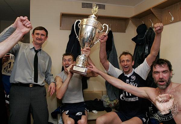 В 2007 году «Зенит» впервые стал чемпионом России