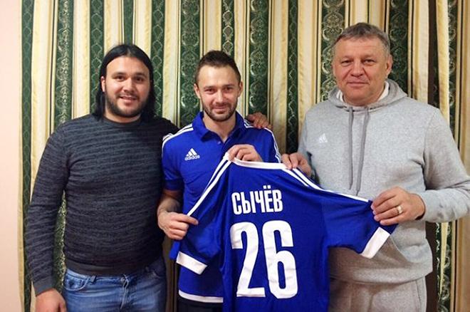 Рустам Раджабов и Дмитрий Сычёв