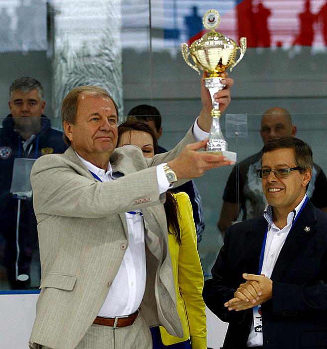 Валерий Фесюк с Кубком Черного моря