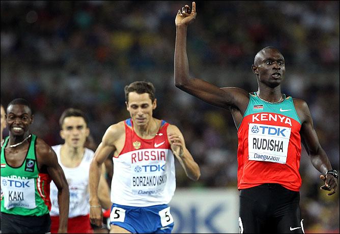 В последнее время даже Юрий Борзаковский не может соперничать с Рудишей