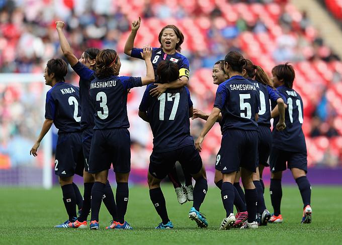 Японские футболистки