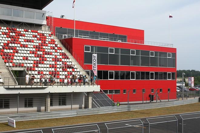 Новый welcome-центр на Moscow Raceway