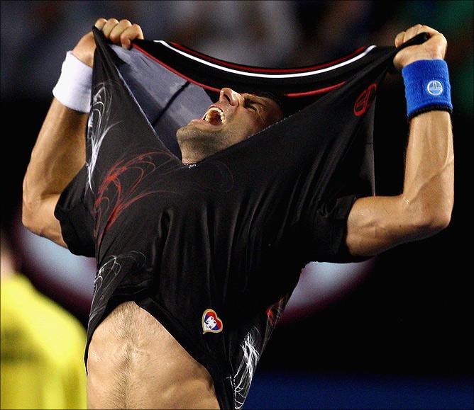 Финал. Новак Джокович (Сербия, 1) – Рафаэль Надаль (Испания, 2) – 5:7, 6:4, 6:2, 6:7 (5:7), 7:5