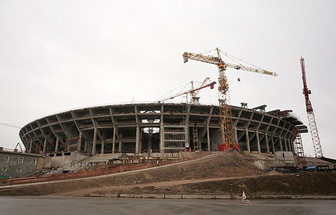 Комиссия ФИФА осталась довольна темпами строительства стадиона «Зенита»
