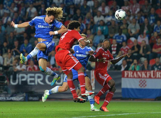 "Суперкубок Европы. ""Бавария"" — ""Челси"". Давид Луис против Данте."
