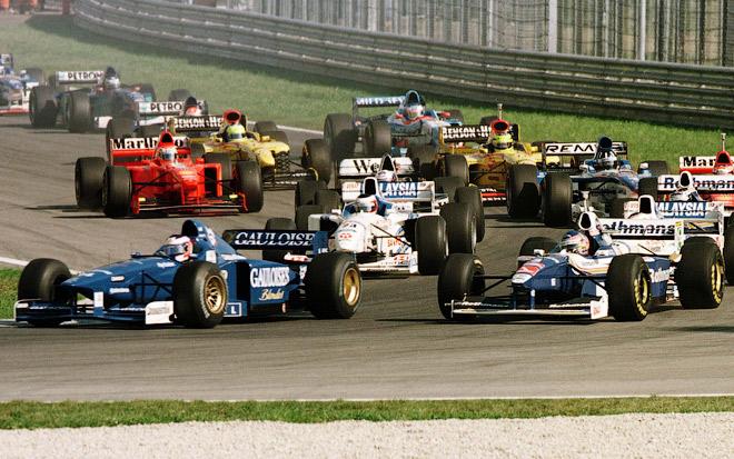 Ярно Трулли на Гран-при Австрии-1997