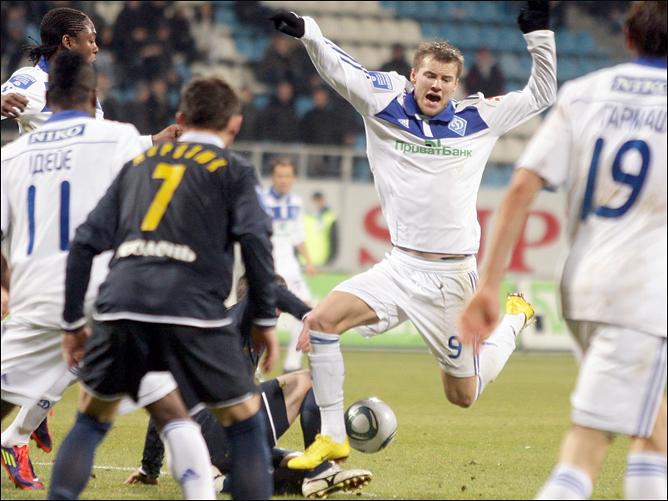 Ярмоленко поучаствовал в голевой атаке.