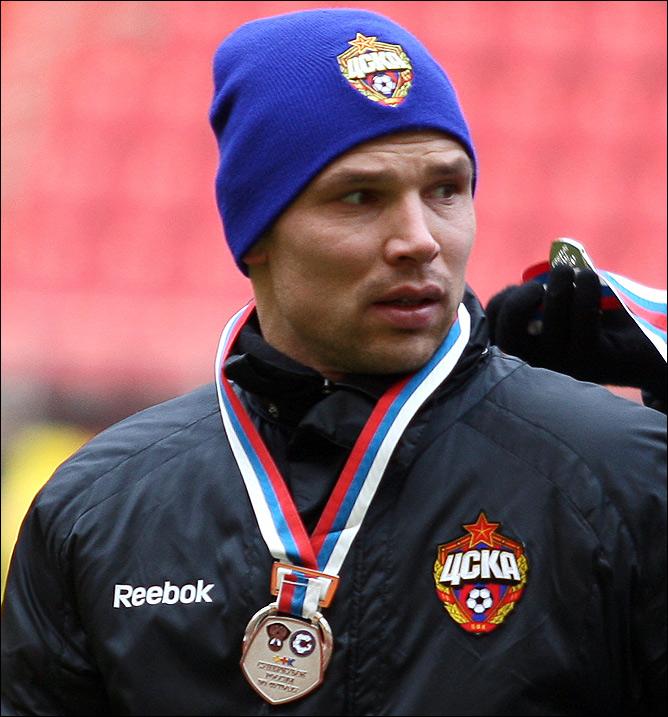 Пятикратный обладатель Суперкубка России — Сергей Игнашевич