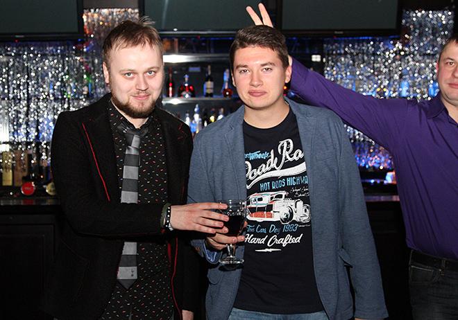 Антон Матвеев, Леонид Волотко и Олег Лысенко