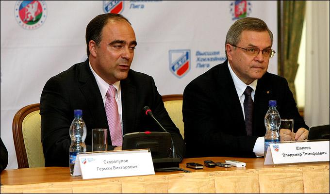 Герман Скоропупов и Владимир Шалаев