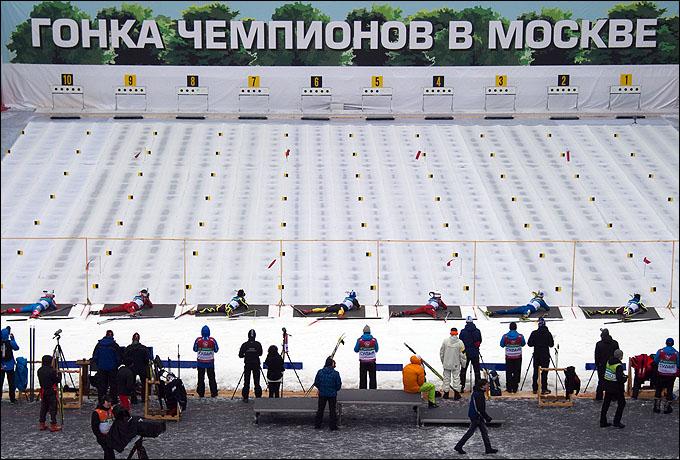 Стрельбище Гонки чемпионов-2012