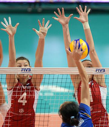 Волейбол. Мировая Лига. Россия — Таиланд — 3:0